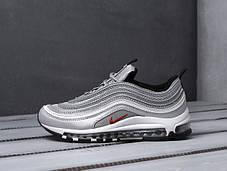 Мужские кроссовки в стиле Nike Air Max 97 Silver, фото 2