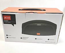 Портативная колонка bluetooth блютуз акустика для телефона с флешкой повербанк камуфляж JC-222, фото 3