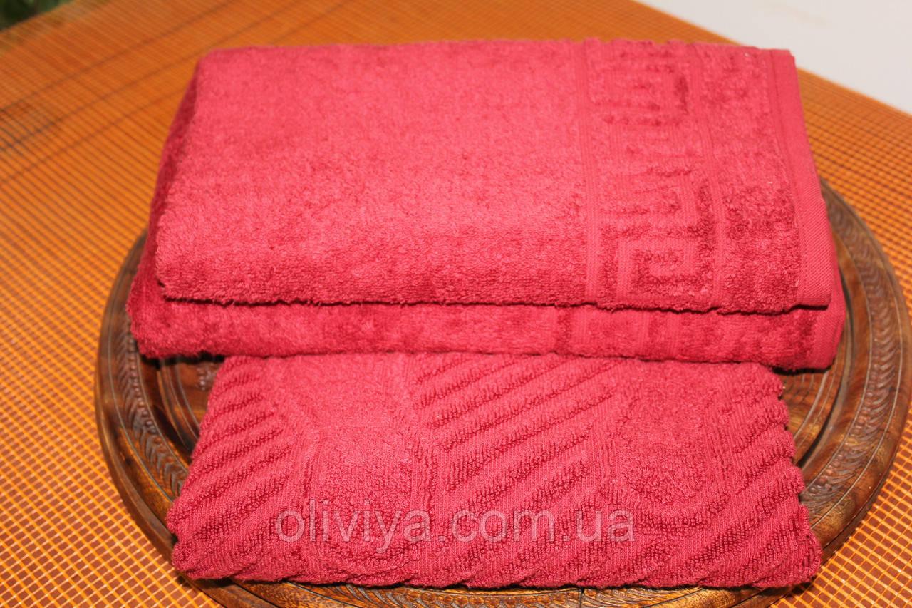 Набор полотенец кирпичный