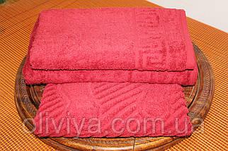 Набор полотенец кирпичный, фото 3