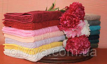 Набор полотенец бордовый, фото 3