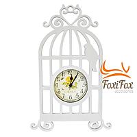 Часы настенные Птичка в клетке 40 см