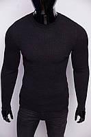 Свитер мужской теплый Figo 6758-2 черный
