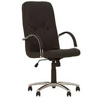 Кресло для руководителя MANAGER (МЕНЕДЖЕР) STEEL CHROME SP, LE, фото 1