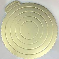 Подложка для торта серебристая Ø 220 мм (шт)