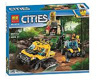 """Конструктор Bela 10710 (Аналог Lego City 60159) """"Миссия исследование джунглей""""397 деталей, фото 1"""