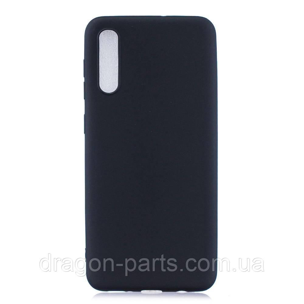 Чехол Силикон для Samsung Galaxy A70 черный