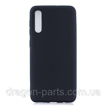 Чехол Силикон для Samsung Galaxy A70 черный, фото 2