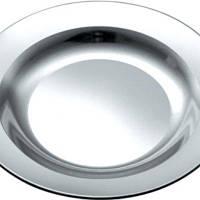 Тарелка нержавеющая круглая V 500 мл Ø 200 мм (шт)