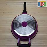 Набор кастрюль со сковородой 2 в 1. Кастрюли 5 шт - 1.3 л/1.8 л/2.7 л/3.7 л/4.4 л. Сковорода 24 см, фото 8
