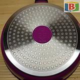 Набор кастрюль со сковородой 2 в 1. Кастрюли 5 шт - 1.3 л/1.8 л/2.7 л/3.7 л/4.4 л. Сковорода 24 см, фото 9