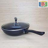 Сковорода сотейник с керамическим покрытием Размер 28 см Giakoma 1015/28, фото 4