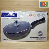 Сковорода сотейник с керамическим покрытием Размер 28 см Giakoma 1015/28, фото 7