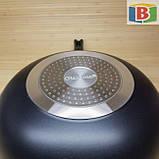 Сковорода сотейник с керамическим покрытием Размер 28 см Giakoma 1015/28, фото 8