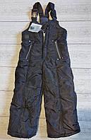 Зимний полукомбинезон,зимние штаны комбинезон р 86 - 104 см