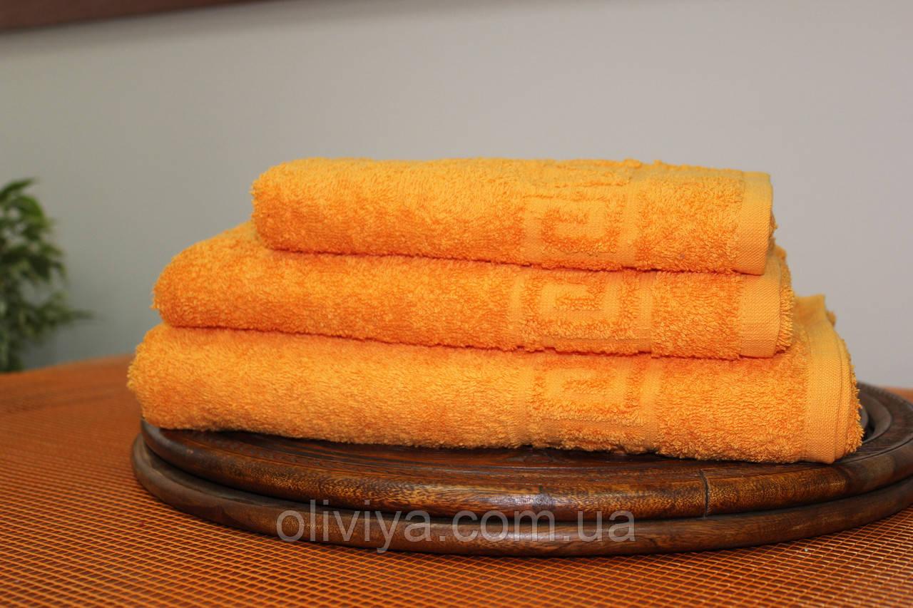 Набор полотенец оранжевый