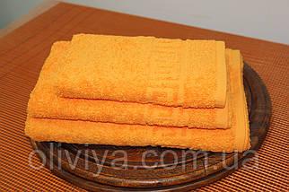 Набор полотенец оранжевый, фото 3
