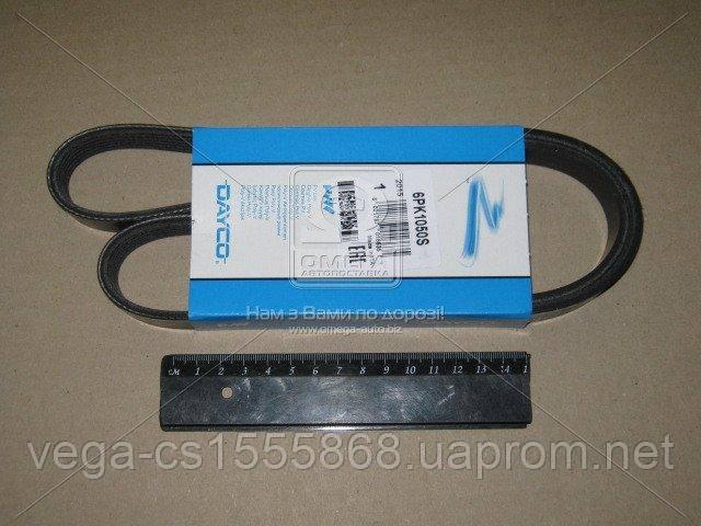 Поликлиновой ремень Dayco 6PK1050S на Opel Astra / Опель Астра