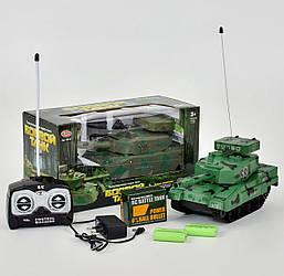Іграшка дитяча Танк 9344 на акумуляторі стріляє кулями