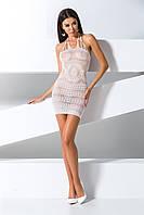 Плаття сітка BS 063 white Passion