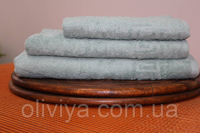 Набор полотенец алое, фото 2