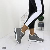 Женские зимние кроссовки, эко-кожа