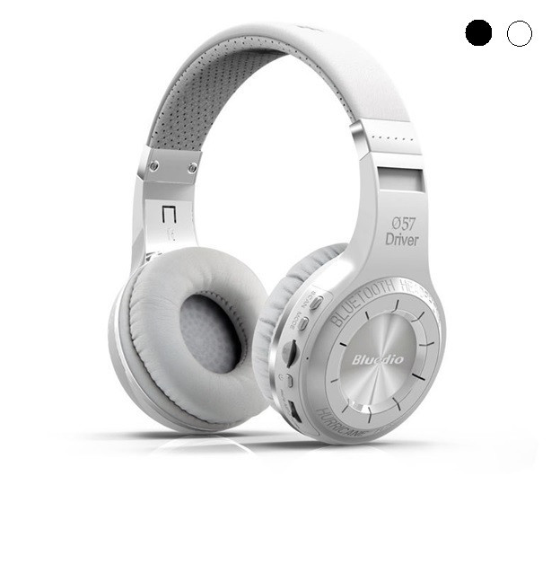 Беспроводные bluetooth наушники-гарнитура Bluedio H+ 36 часов музыки
