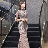 Невероятное платье рыбка коллекция 2019-2020. Вечірнє плаття рибка. Платье ручной работы вечернее с бисером