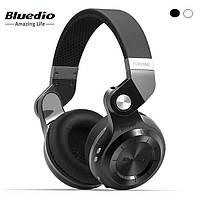 Складные беспроводные bluetooth наушники-гарнитура Bluedio T2S 36 часов музыки