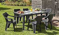 Набор садовой мебели Dante Futura Dining Set из искусственного ротанга, фото 1