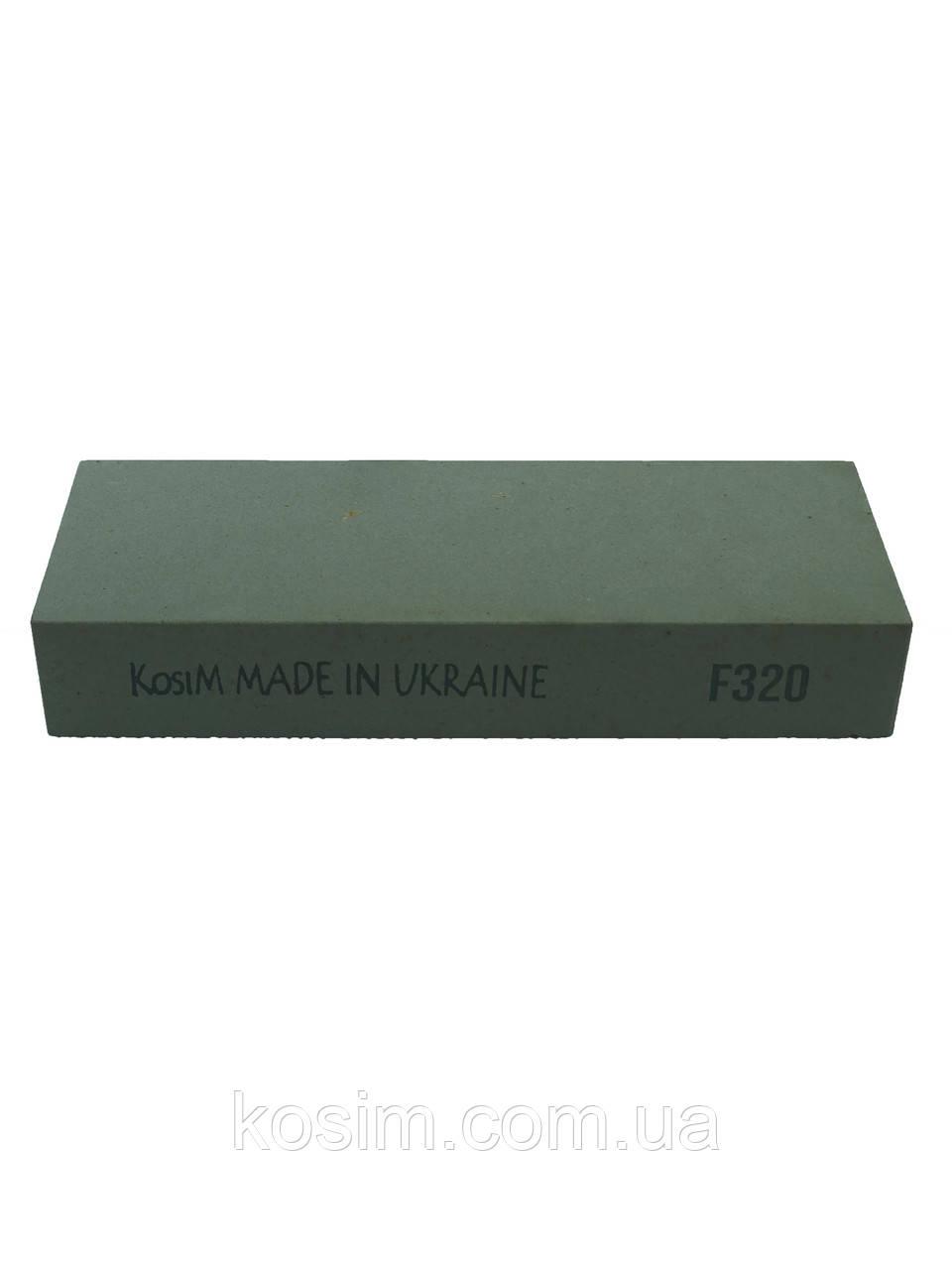 Точильный камень KosiM для ручной заточки режущего инструмента F320 150*25*55 мм