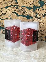 Декоративные камушки красные сердечки