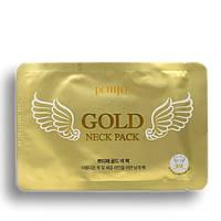 Гидрогелевые патчи для шеи Petitfee Gold Neck Pack 1 шт, фото 1