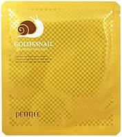 Гидрогелевая маска для лица Petitfee Gold & Snail Hydrogel Mask Pack