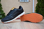 Чоловічі зимові кросівки Reebok Classic з хутром (чорні), фото 5