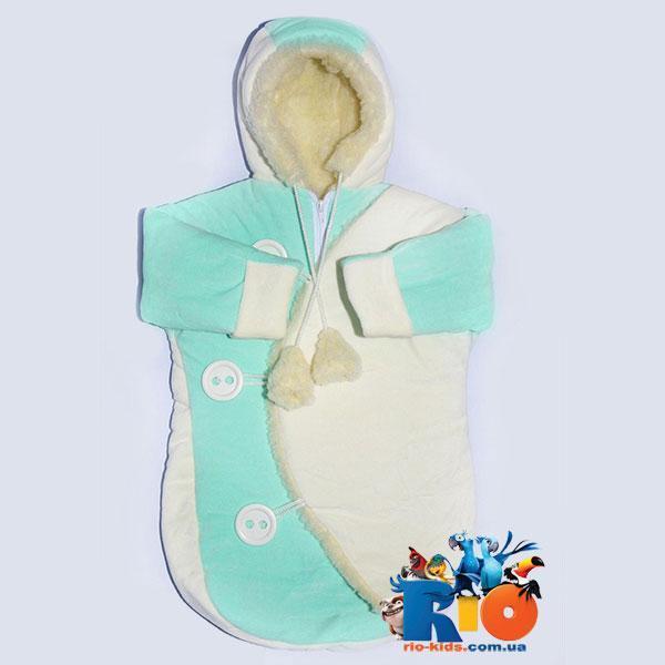 Детский конверт для новорожденных, 1 ед. в упаковке
