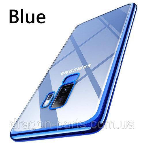 Яркий чехол для Samsung Galaxy S9 plus синий