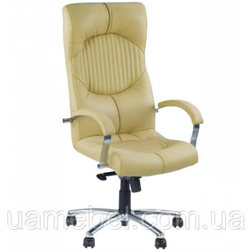 Крісло для керівника GERMES (ГЕРМЕС) STEEL CHROME COMFORT SP, LE