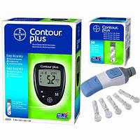 Глюкометр Contour Plus + упаковка тест полосок 50шт.
