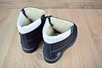 Женские зимние ботинки Timberland с мехом (синие), фото 9
