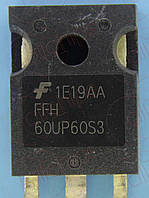 Диод 60А 600В 80нс Fairchild FFH60UP60S3 TO247