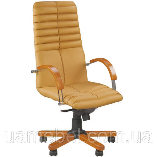 Кресло для руководителя GALAXY (ГЕЛАКСИ) WOOD CHROME SP, LE