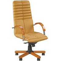 Кресло для руководителя GALAXY (ГЕЛАКСИ) WOOD CHROME SP, LE, фото 1