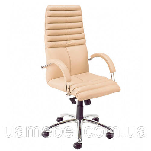 Кресло для руководителя GALAXY (ГЕЛАКСИ) STEEL CHROME SP, LE