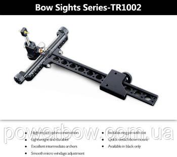 Приціл спортивний для цибулі Topoint TR1002 чорний