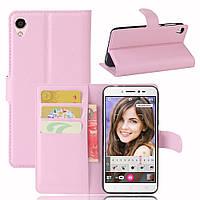 Чехол-книжка Litchie Wallet для Asus Zenfone Live ZB501KL Светло-розовый
