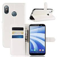 Чехол-книжка Litchie Wallet для HTC U12 Life Белый