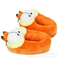 Мягкие Тапочки-игрушки плюшевые кот Гарфилд