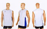 Форма волейбольная мужская (р-р M-4XL-155-185см, белый)