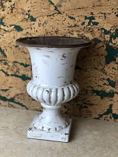Кашпо горшок для цветов декоративный керамический большой